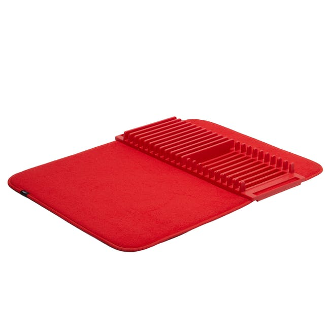 Udry Drying Mat - Red - 0