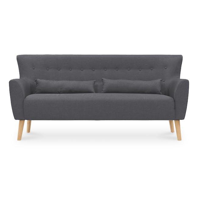 Sofia 3 Seater Sofa - Hailstorm - 0
