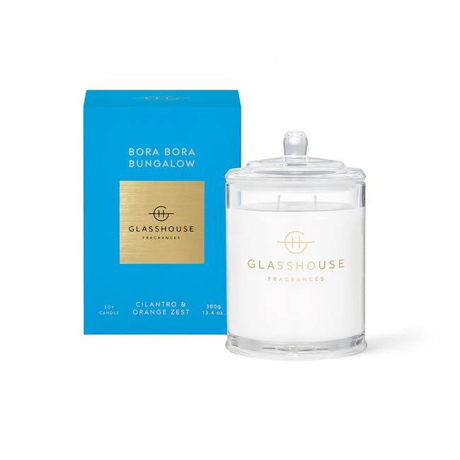 Triple Scented Soy Candle - Bora Bora Bungalow - 380g - 0