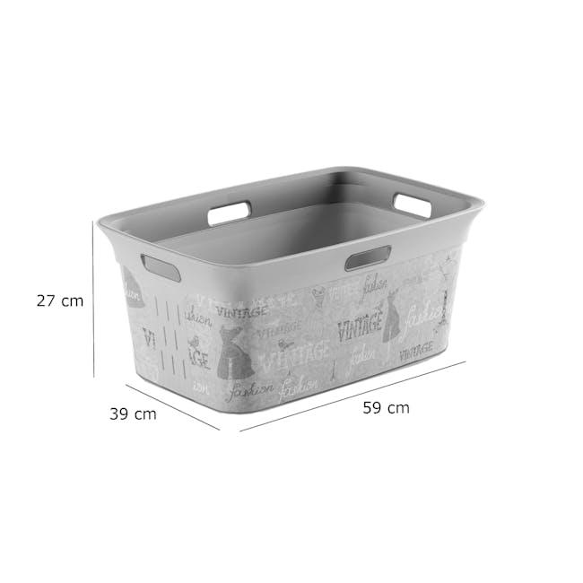 Chic Laundry Basket 45L - Home Service - 2