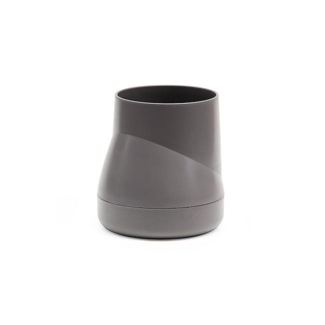 Large Hill Pot - Grey - 0