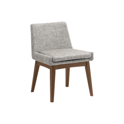 Fabian Dining Chair - Cocoa, Pebble - Image 1