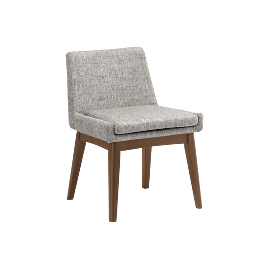 Malmo - Fabian Dining Chair - Cocoa, Pebble