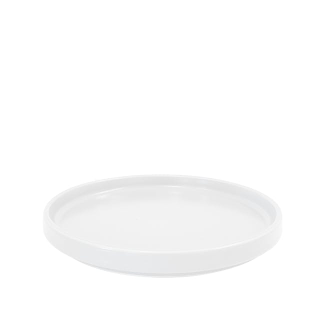 Ceramic Display Tray - White - 1