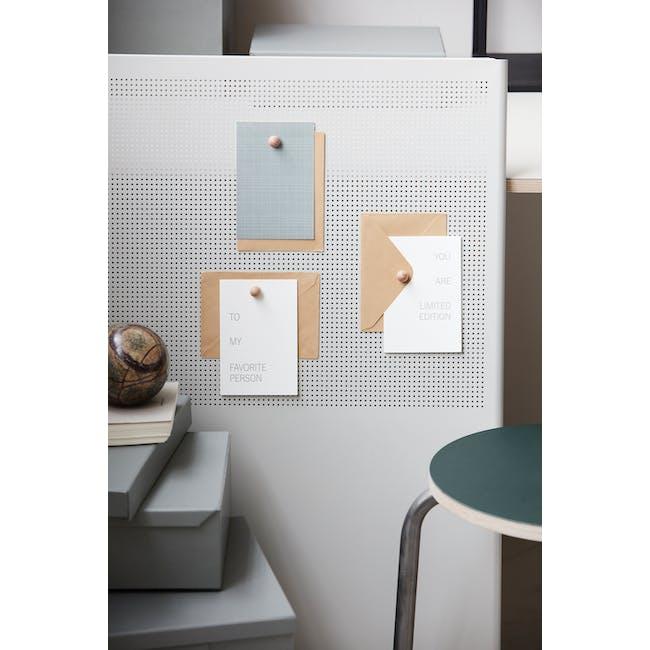Celebratory Note Cards - Grey (Set of 3) - 2