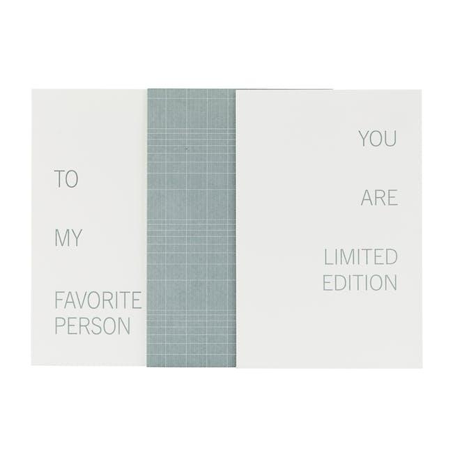 Celebratory Note Cards - Grey (Set of 3) - 0