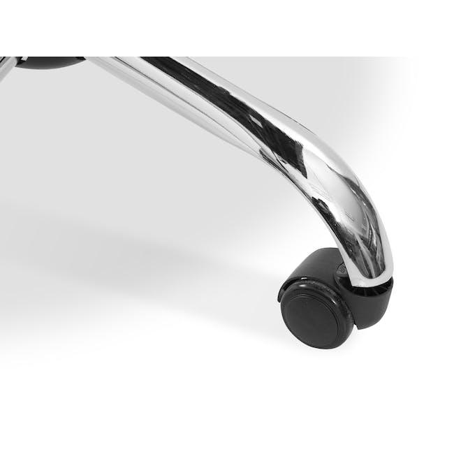 Eames Soft Pad Mid Back Office Chair Replica - Black (PU) - 6