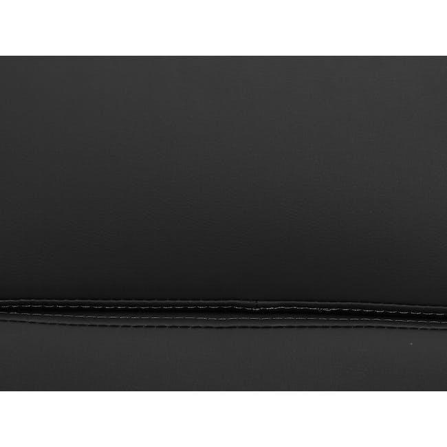 Eames Soft Pad Mid Back Office Chair Replica - Black (PU) - 8