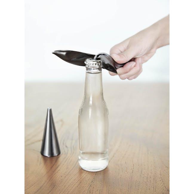 Tipsy Bottle Opener - Titanium - 8