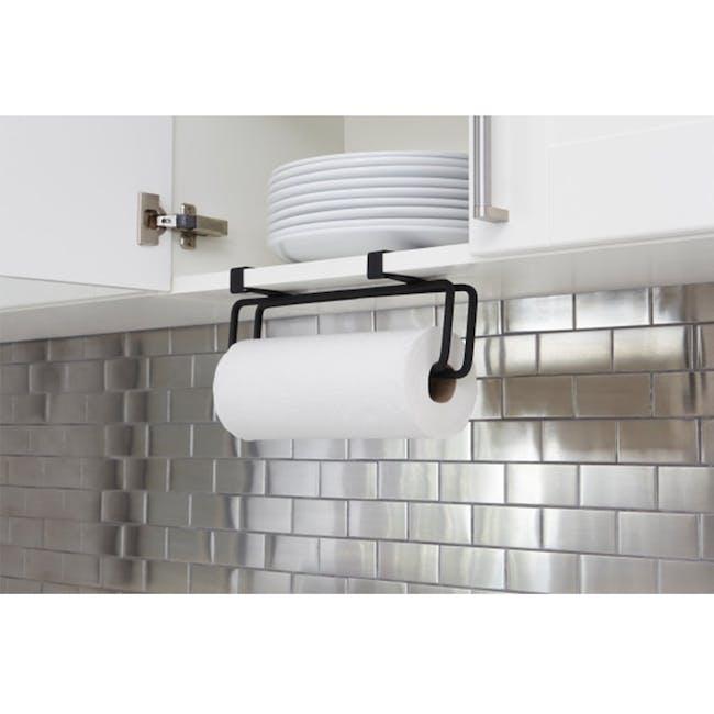 Squire Multi-Use Paper Towel Holder - Black - 2