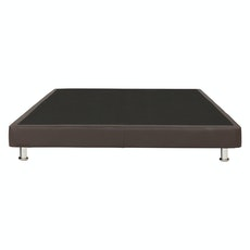 Manchester Divan Bed - Brown (Faux Leather)