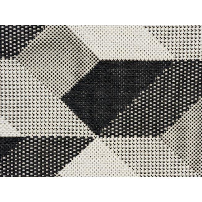 Essenza Flatwoven Rug 1.7m x 1.2m - Ebony Arrow - 2