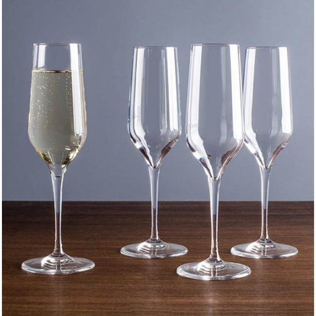 Electra Champagne Flute 23cl (Set of 4) - 2