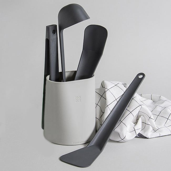 OMMO 5-Pc Cooking Utensils Tools Set - 2