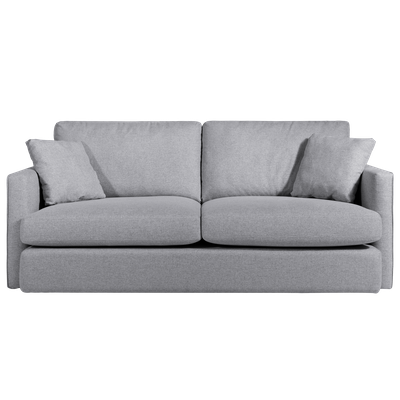 Ashley 3 Seater Lounge Sofa - Grey - Image 1
