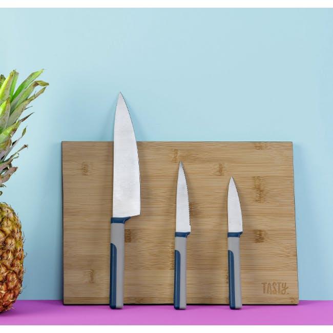 """Tasty 8"""" Chef Knife - 3"""