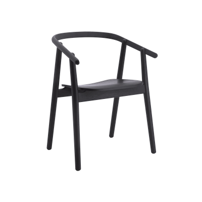 Glen Dining Chair - Black - Image 1