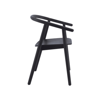 Glen Dining Chair - Black - Image 2