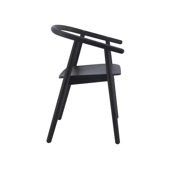 Helga - Glen Dining Chair - Black