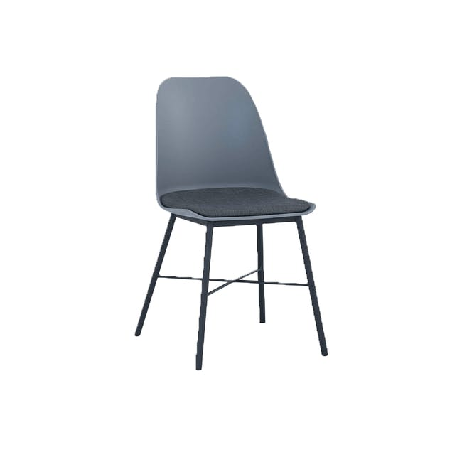Denver Dining Chair - Grey - 0