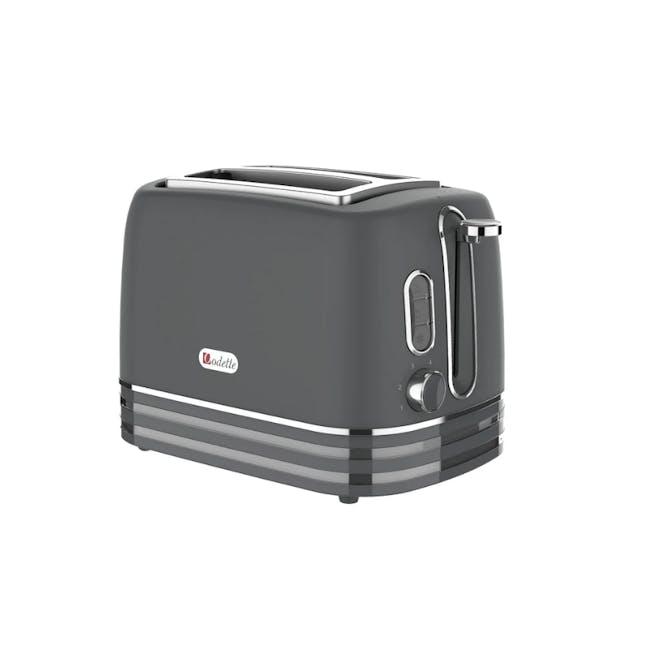 Odette Rivera 2-Slice Bread Toaster - Grey - 1