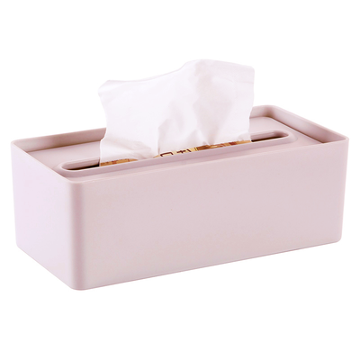 Laura Tissue Box - Dusty Pink - Image 1
