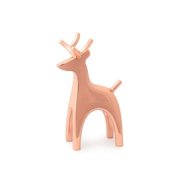 Anigram Reindeer Ring Holder - Copper - 5