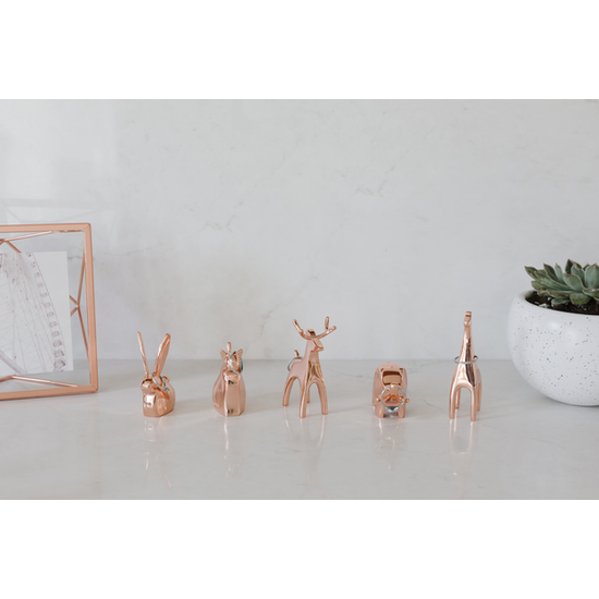 Umbra - Anigram Reindeer Ring Holder - Copper