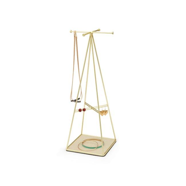 Prisma Jewelry Stand - Brass - 2