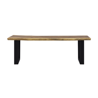 Frank Solid Suar Live Edge Dining Bench 1.5m - Image 1