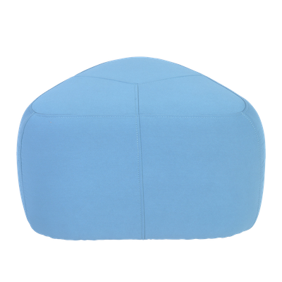 Cirrus Small Triangle Pouf - Clover - Image 1