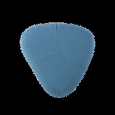 Cirrus Small Triangle Pouf - Clover - Image 2