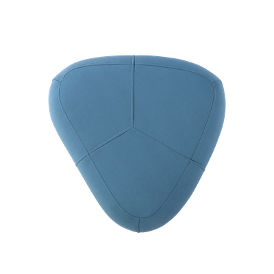 Cirrus Small Triangle Pouf - Clover - Image 2