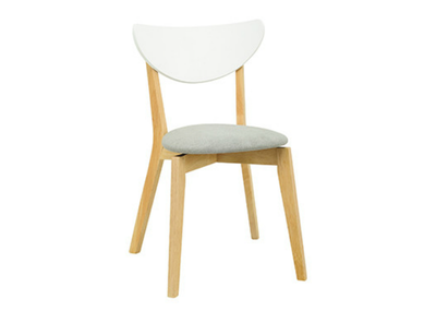 Harold Dining Chair - Natural, Grey