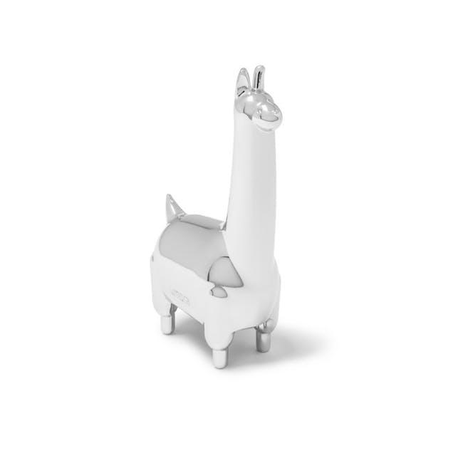 Zoola Llama Ring Holder - Chrome - 1