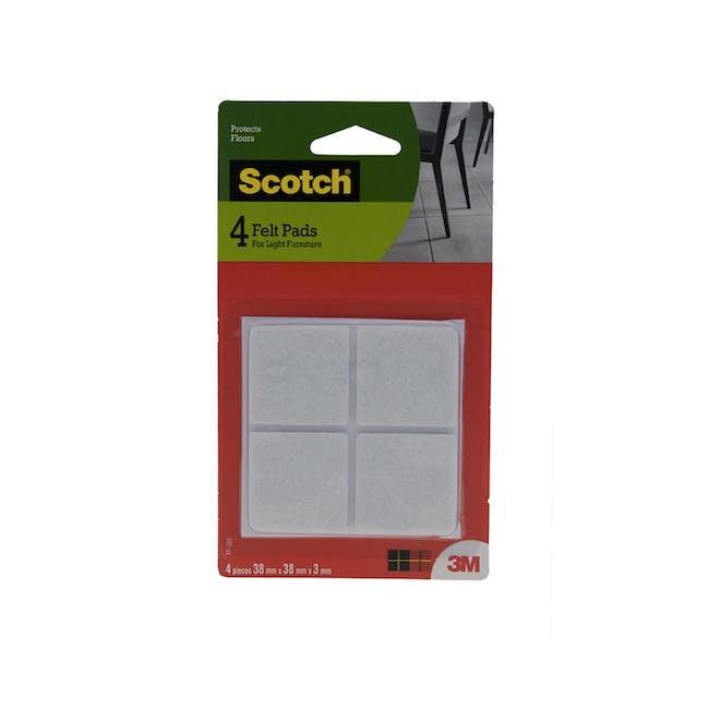 Scotch Square/Circle Felt Pads (3 Sizes) - 2