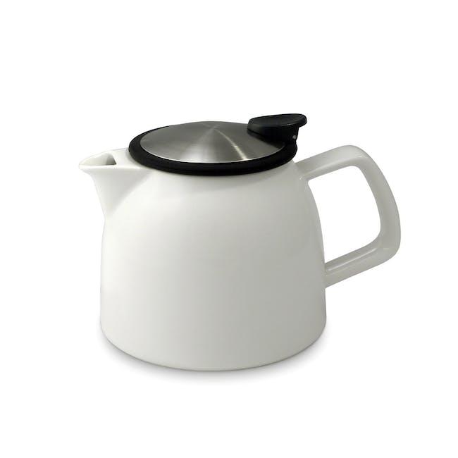 Forlife Bell Teapot - White (2 Sizes) - 1