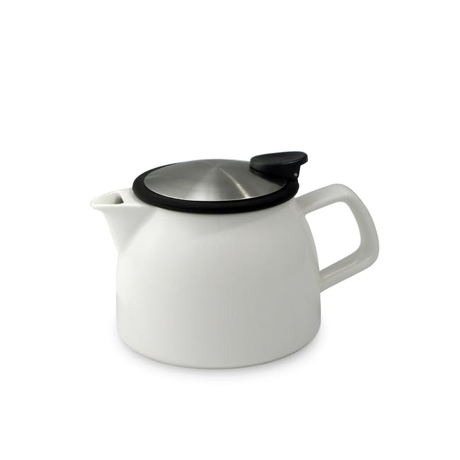 Forlife Bell Teapot - White (2 Sizes) - 0