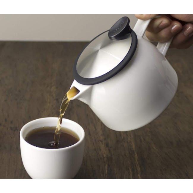 Forlife Bell Teapot - White (2 Sizes) - 4
