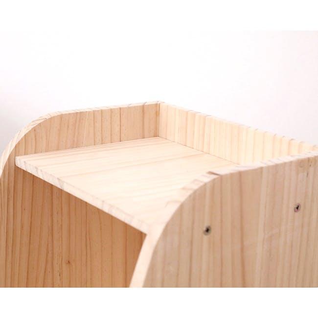 Nizu Kids Side Table - Natural - 4