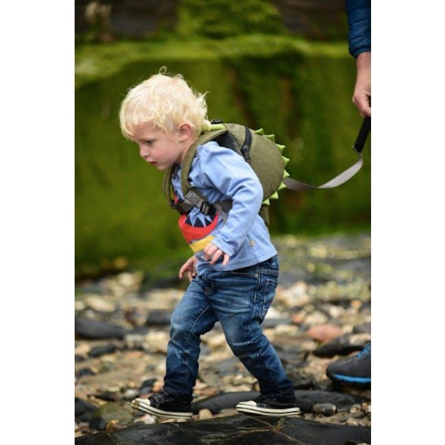 LittleLife Animal Toddler Backpack - Crocodile - 2