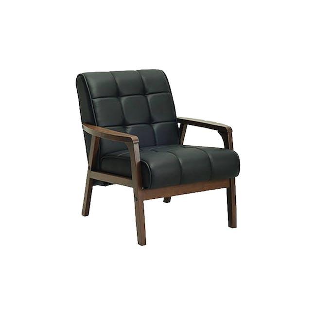 Tucson 3 Seater Sofa with Tucson Armchair - Espresso - 1
