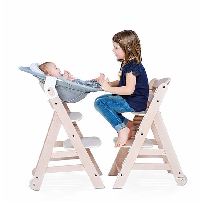 Hauck Alpha+ Deluxe: High Chair + Tray - 9