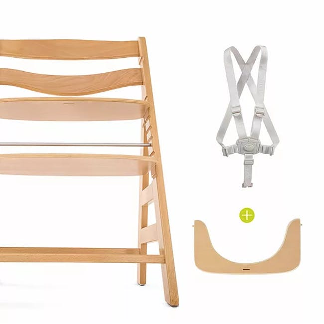 Hauck Alpha+ Deluxe: High Chair + Tray - 3