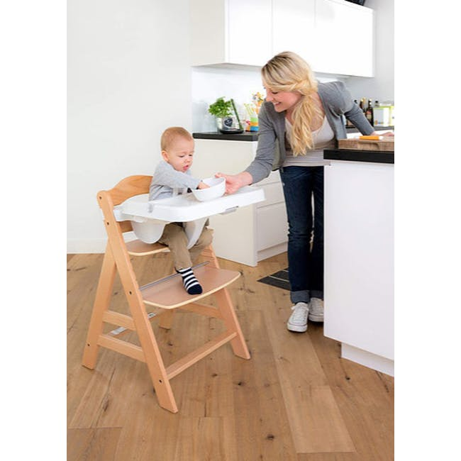 Hauck Alpha+ Deluxe: High Chair + Tray - 1