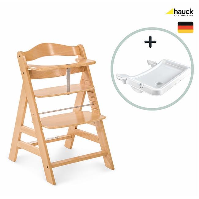 Hauck Alpha+ Trio: High Chair + Tray + Bouncer - 9