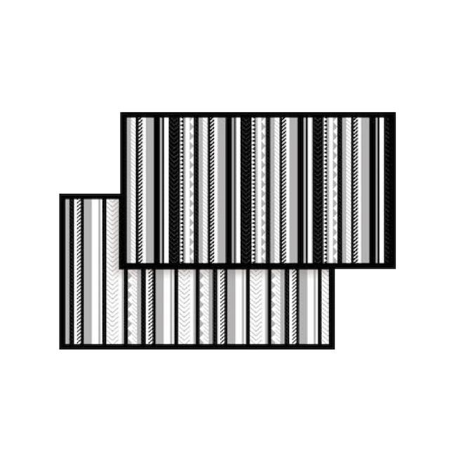 Inari Medium Reversible Mat 2m x 0.9m - Black - 2