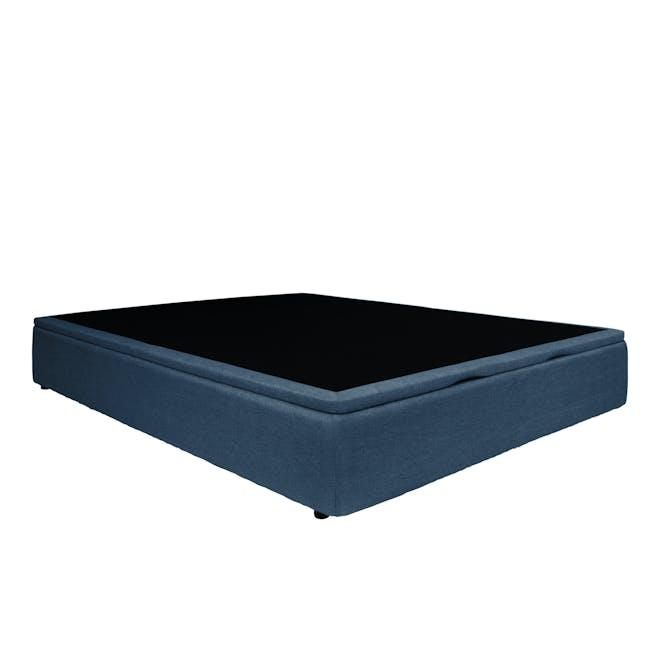 ESSENTIALS Single Storage Bed - Denim (Fabric) - 3