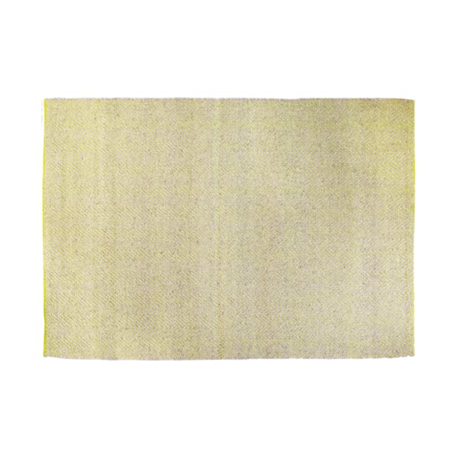 Ross Flatwoven Rug 2.4m by 1.7m - Green - 0