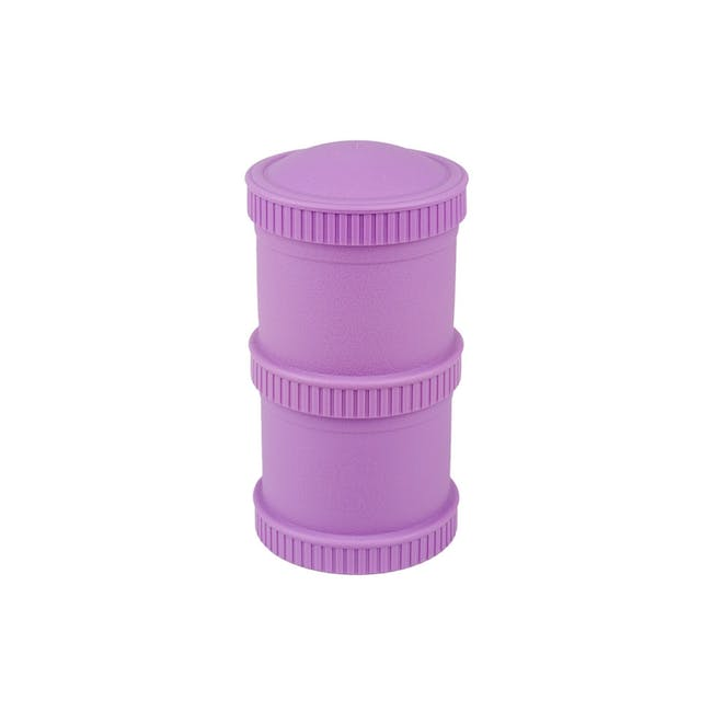 Re-Play Snack Stack Set - Purple - 0
